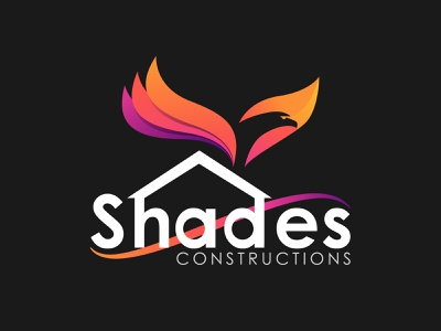 Logo for construction company adarshthambi bird logo eagle logo bird eagle ui design art vector illustration branding logo