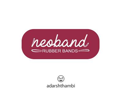Logo for rubber band brand adarshthambi logoidea logodesign design vector illustration branding logo