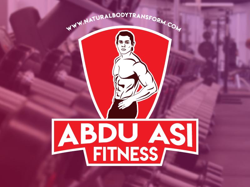 Abdu Asi fitness Logo vector vectorart adarshthambi branding illustration mascotlogo mascot logo
