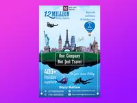 Flyer design , Photoshop manipulation