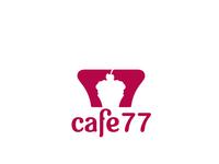 cafe logo cupcake inspired