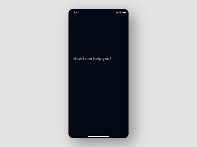 Voice A.I app - Learning Motion motion design motion ui uxdesign uidesign ux artificial intelligence ai voice voice assistant motion mobile ui