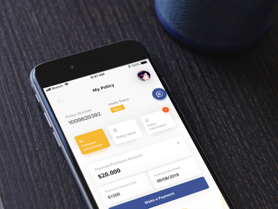 Insurance Mobile App freebies clean iphone app mobile insurance