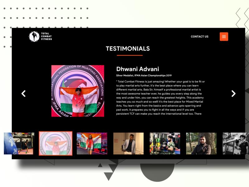 Daily UI Challenge #39 Testimonials minimal design daily ui dailyui app uxdesign ux uidesign ui dailyuichallenge daily 100 challenge