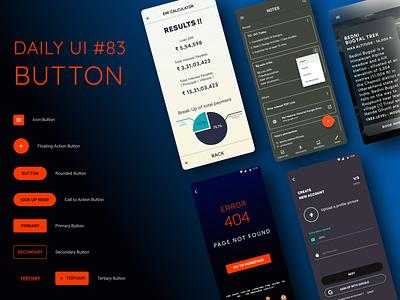 Daily UI Challenge #83 Button minimal design daily ui dailyui app uxdesign ui ux uidesign dailyuichallenge daily 100 challenge