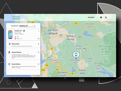 Daily UI Challenge #20 Location Tracker minimal design daily ui dailyui app uxdesign ux uidesign ui dailyuichallenge daily 100 challenge