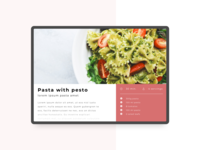 Daily UI Challenge #040 - Recipe