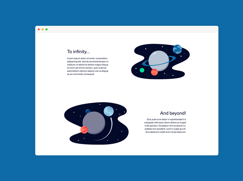 To Infinity And Beyond... stars space planets planet illustration icons icon flat design astronaut