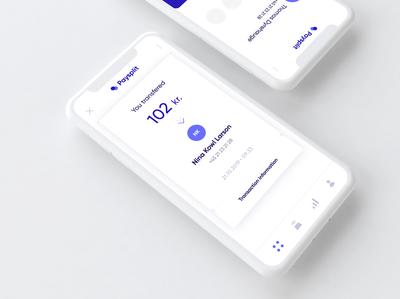Mobilepay Redesign concept Receipt/login