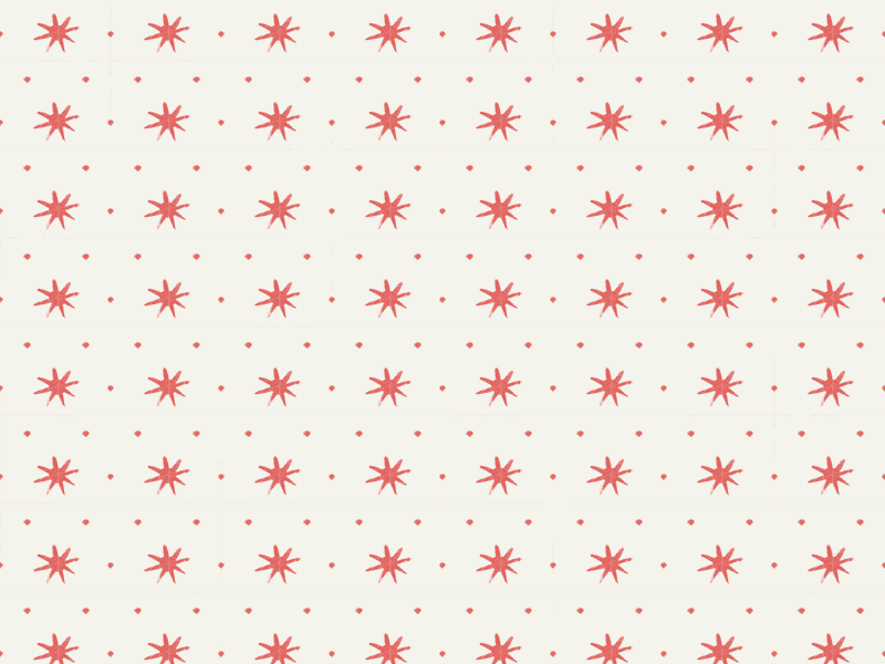Simple Star and Dot Pattern illustration tuesday bassen ink brush digital pattern americana feedsack