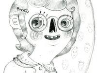 Round 2 of Skele Self Portrait
