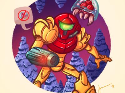 Retro Gaming Series - Metroid
