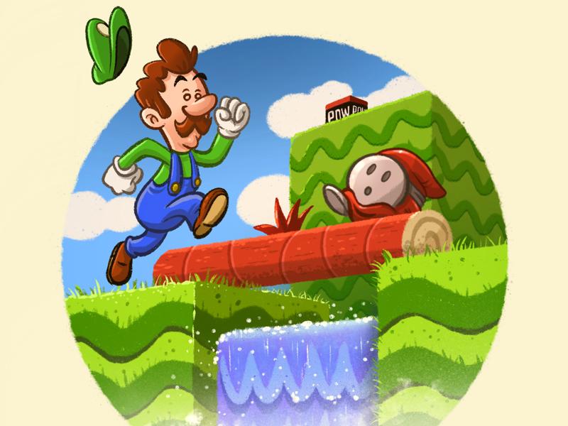 Retro Gaming Series - Super Mario 2 nes nintendo mario bros 2 luigi mario bros mario