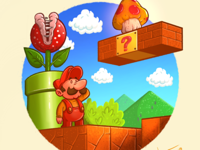 Retro gaming series - Super Mario Bros