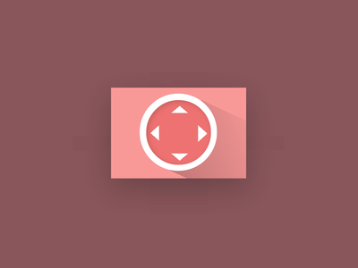 Longshadow Flat Icon Arrows [CSS]