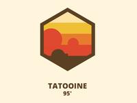 Tatooine Badge [CSS]