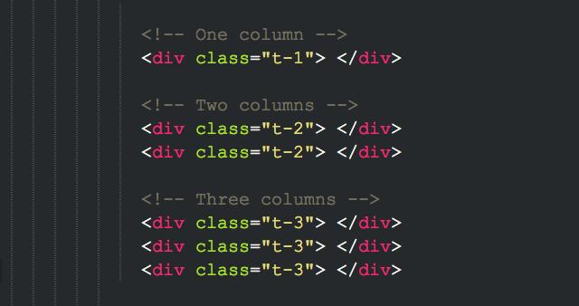 Trinity html sample