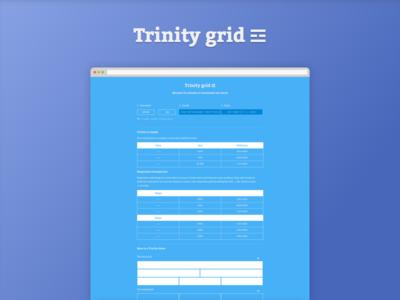 Trinity grid ☲