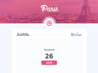 Paris Dribbble Meetup