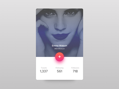 Twitter card  glow shadow ux ui card frontend codepen javascript html css coded