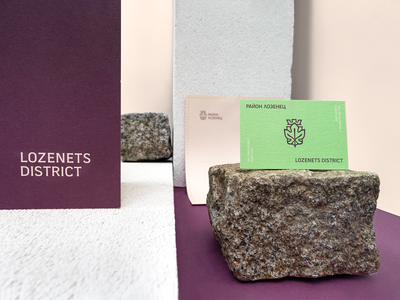Lozenets Municipality | Stationary fourplus graphicdesign bulgaria lozenets sofia stationary logotype mark logo haraldry identity municipality branding tsvetislavakoleva leaf vine coat of arms