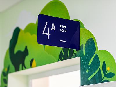 Navigation system wayfinding signage navigation system childrens hospital visual identity