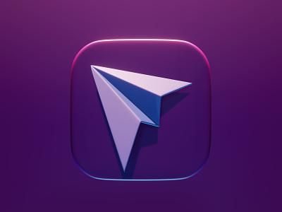 You've got mail lettering mail symbol concept design 3d 3d art blender3d icon design icon