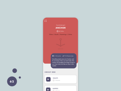 Daily UI Challenge - Day 62