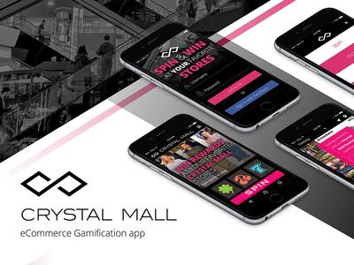 Crystal Mall Spin & Win App