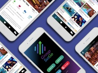 GroupSetGo Mobile App Design