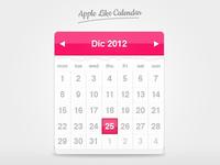 Apple Like Calendar