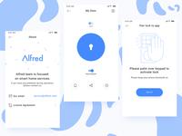 Alfred V1.0-The Smart Door Lock App