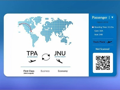 Boarding Pass UI