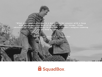 Squadbox Testimonial Area