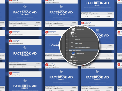 Free Sponsored Facebook Ad Mockup