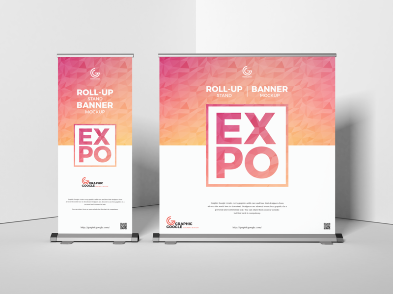 Free Expo Roll-Up Stand Banner Mockup psd print template branding mockup mockups banner mockup identity freebie free standee mockup mockup psd mockup free free mockup mock-up mockup expo expo mockup download branding