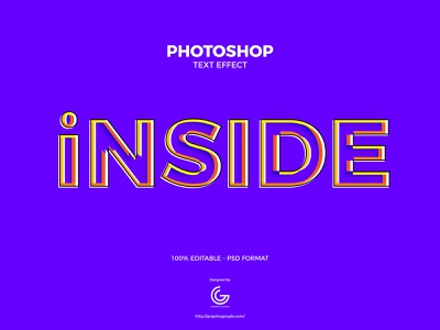 Free Inside Photoshop Text Effect graphics design photoshop action psd free freebies freebie download print type text effect mockup text mockup calligraphy free font font text effects text effect
