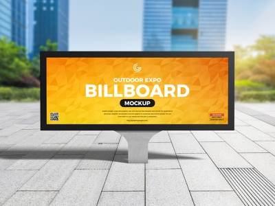 Free Outdoor Advertising Billboard Mockup psd print template stationery mockups identity freebie free sign mockup mockup psd mockup free free mockup mock-up mockup frame billboard mockup download branding
