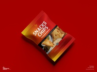Free Snacks Packaging Mockup psd print template stationery mockups packaging design identity freebie free packaging mockup mockup psd mockup free free mockup mock-up mockup packaging snacks mockup download branding