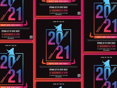Free Happy New Year 2021 Flyer Template print design print psd download freebie freebies free template design templates template flyer artwork flyer template flyer design flyers flyer happy new year flyer 2021 flyer happy new year 2021 happy new year 2021