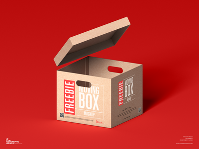 Free Moving Box Mockup psd print template stationery mockups packaging design identity freebie free box mockup mockup psd mockup free free mockup mock-up mockup packaging font download branding