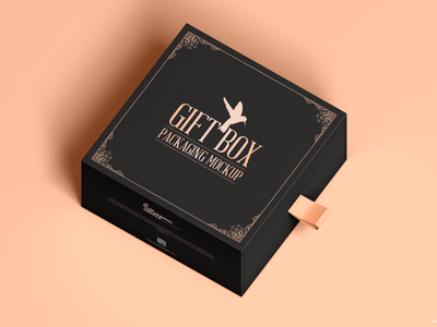 Free Gift Slide Box Mockup psd print template stationery mockups logo identity freebie free packaging mockup box mockup mockup psd mockup free free mockup mock-up mockup packaging gift box mockup download branding