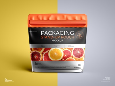 Free Pouch Mockup pouch mockup
