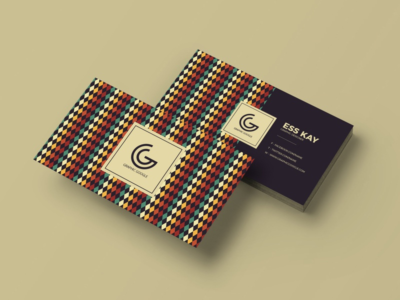 Free Retro Vintage Business Card Template business card business card template