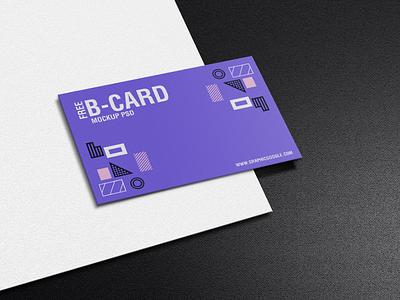 Free Texture Business Card Mockup PSD mockup template mockup psd freebie free mockup