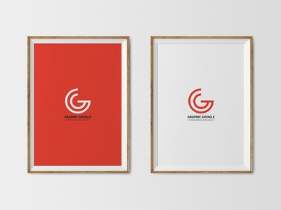 Free Poster Frames Psd Mockup by Graphic Google - Dribbble