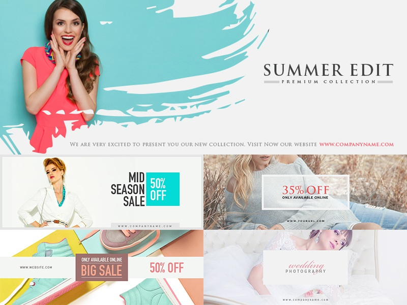 5 free modern facebook cover design templates by graphic google