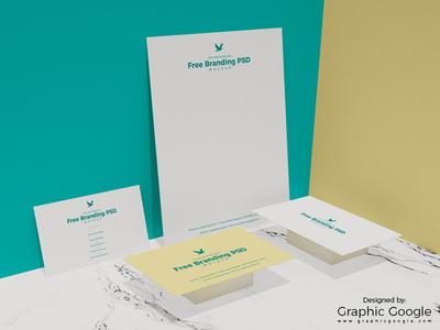 Free Branding PSD Mockup