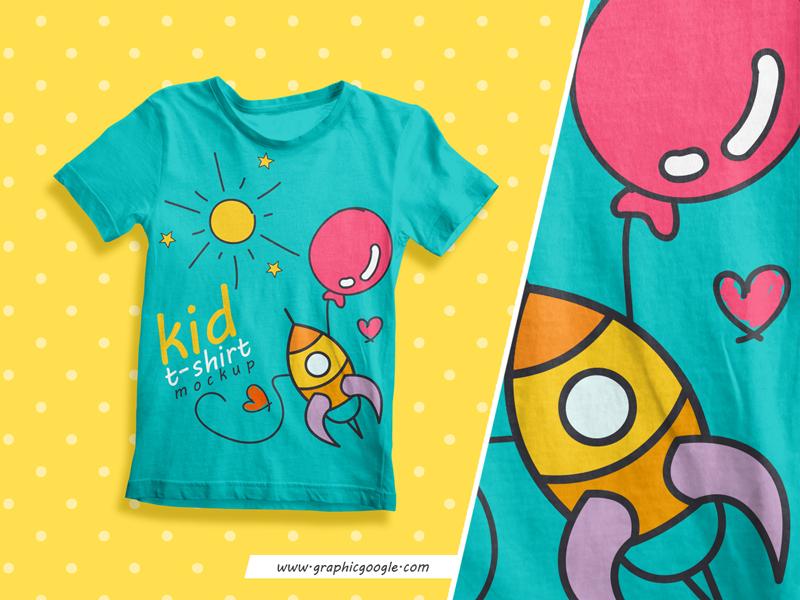 Free Kid T Shirt Mockup Psd 2018 By Graphic Google Dribbble Dribbble