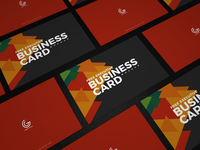 Free Executive Business Card Mockup